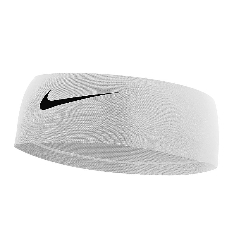 Nike Fury 2.0 Headband, Women's, Natural Keep your hair under control and the sweat off your brow with this classically styled Nike Fury headband. Dri-FIT moisture-wicking technology No-slip silicone grips Embossed swoosh logo FIT & Sizing 2.5-in. width 17.3-in. circumference Fabric & Care Polyester, spandex Machine wash Imported Size: Onesize. Color: Natural. Gender: Female. Age Group: Adult.