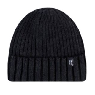 Men's Heat Holders Ribbed Knit Cuffed Beanie