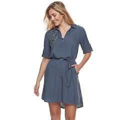 Women's SONOMA Goods for Life™ Embroidered Shirtdress