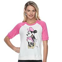 Disney's Minnie Mouse Juniors' Vintage Graphic Sweatshirt