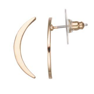 LC Lauren Conrad Crescent Drop Earrings