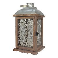 St. Nicholas Square® Snowflake Lantern Table Decor