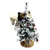 Christmas Tree & Bear 16-in. LED Christmas Table Decor