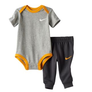 "Baby Boy Nike ""Just Do It"" Bodysuit & Pants Set"