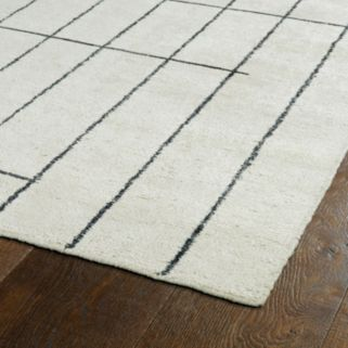 Kaleen Solitaire Mika Geometric Rug