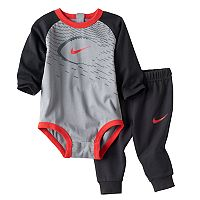 Baby Boy Nike Sports Bodysuit & Pants Set