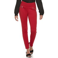 Juniors' Candie's® Ponte Pull-On Pants