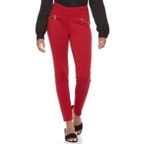 Juniors' Candie's® Ponte Pull-On Pants