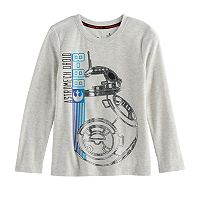 Boys 4-7x Star Wars a Collection for Kohl's Star Wars: Episode VII The Force Awakens BB-8 Foiled Tee