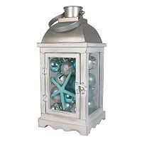 St. Nicholas Square® Light-Up Coastal Lantern Christmas Table Decor