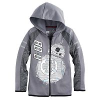 Boys 4-7x Star Wars a Collection for Kohl's Star Wars: Episode VII The Force Awakens Foiled BB-8 Zip Hoodie