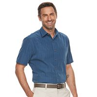 Men's Croft & Barrow® Classic-Fit Microfiber Easy-Care Button-Down Shirt