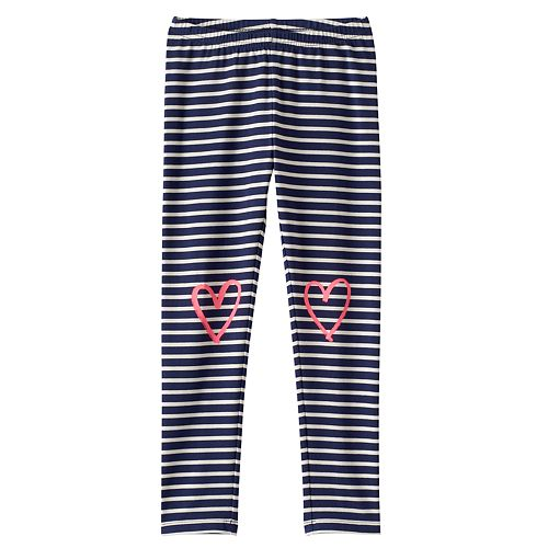 Girls 4-10 Jumping Beans® Long Print Leggings
