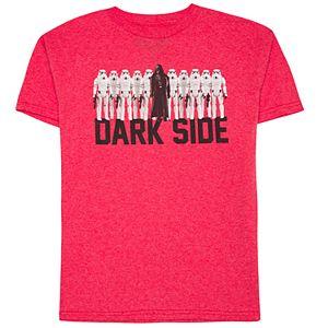 Boys 8-20 Star Wars Dark Side Tee