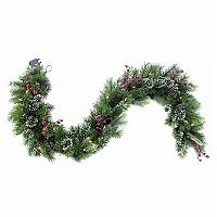 Ice Storm 6-ft. LED Artificial Spruce Christmas Garland