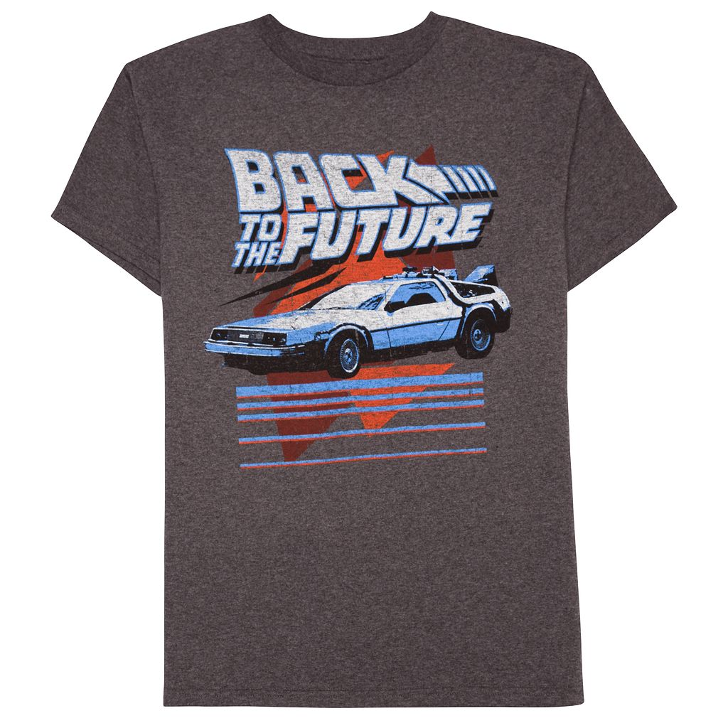 Boys 8-20 Back To The Future Tee