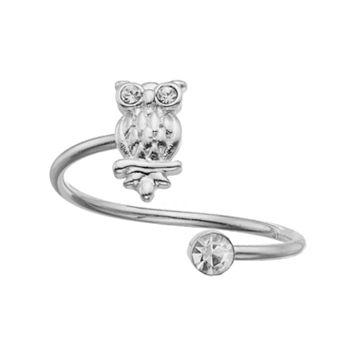 LC Lauren Conrad Owl Open Ring