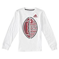 Toddler Boy adidas Football Verbiage Tee