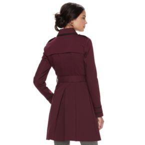 Women's ELLE™ Trimmed Trench Coat
