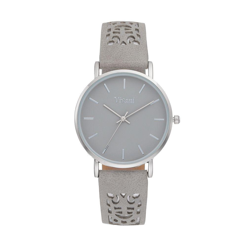 Vivani Women's Perforated Watch