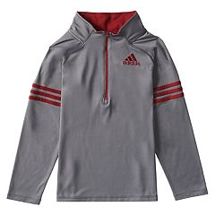 Toddler Boy adidas 1/4-Zip Pullover Top