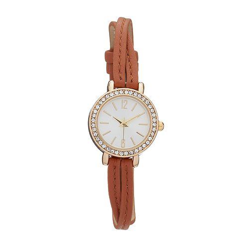 Women's Crystal Split Band Watch