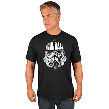 Men's Majestic Chicago Cubs Star Wars Storm Trooper Tee