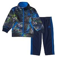 Toddler Boy adidas Abstract Fusion Jacket & Pants Set