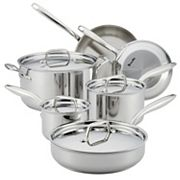 Breville Thermal Pro Clad 10 pc Stainless Steel Cookware Set
