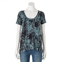 Women's Rock & Republic® High-Low Tie-Dye Tee