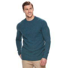 Big & Tall Croft & Barrow® True Comfort Stretch Crewneck Sweater