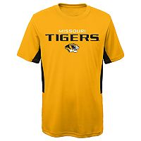 Boys 8-20 Missouri Tigers Mainframe Performance Tee