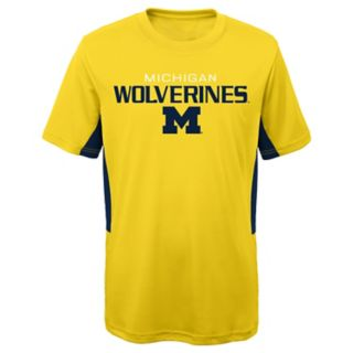 Boys 8-20 Michigan Wolverines Mainframe Performance Tee