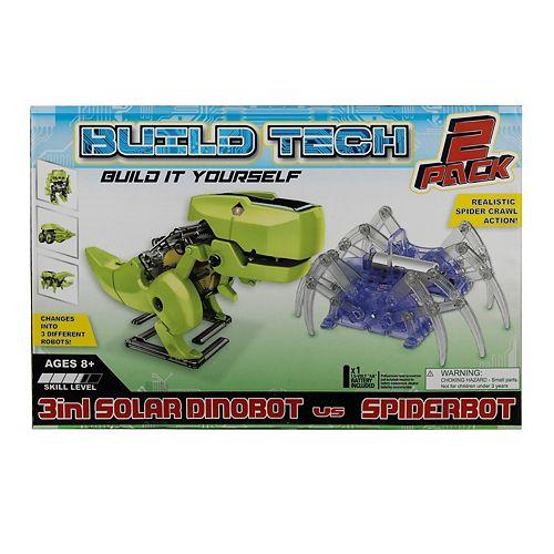 Gener8 2-in-1 Ubuild Solar Dinobot & Spider Bot
