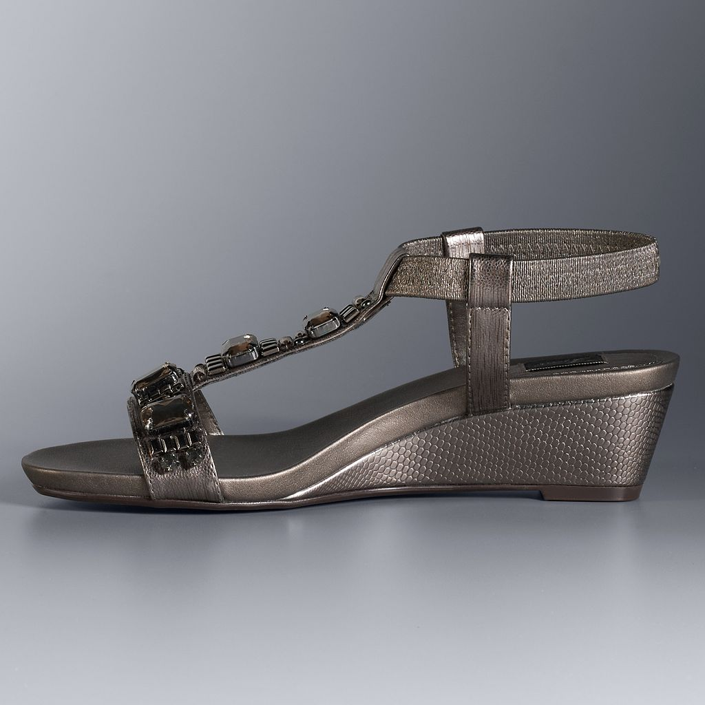 Simply Vera Vera Wang Vivian Women's Wedge Sandals