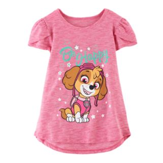 "Girls 4-10 Jumping Beans® Paw Patrol Skye ""Be Happy"" Tee"