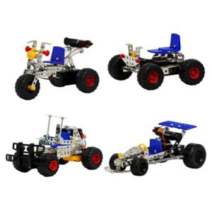 Gener8 4-in-1 Motorized Metal Constructors Set