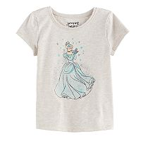 Disney's Cinderella Toddler Girl Glittery Graphic Top by Jumping Beans®