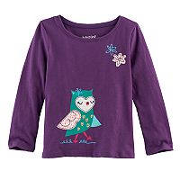Toddler Girl Jumping Beans® Animal Foil Graphic Tee