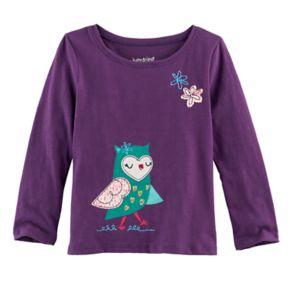 Toddler Girl Jumping Beans® Animal Foil Graphic Tee