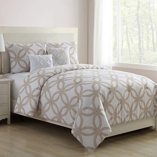 VCNY Metallic Chloe Comforter Set