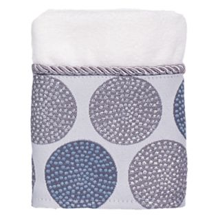 Avanti Dotted Circle Washcloth