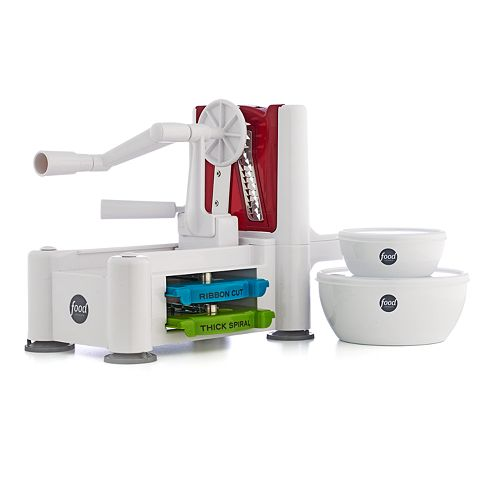 Food Network™ Spiralizer with 2-pc. Prep Bowl Set