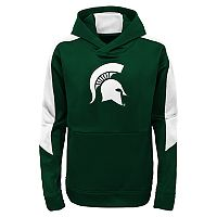 Boys 8-20 Michigan State Spartans Hyperlink Pullover Hoodie