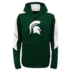 Boys 8-20 Michigan State Spartans Hyperlink Pullover Hoodie