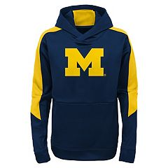 Boys 8-20 Michigan Wolverines Hyperlink Pullover Hoodie