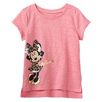 Disney's Minnie Mouse Baby Girl Foiled Graphic Tee by Jumping Beans®