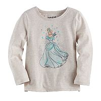 Disney's Cinderella Toddler Girl Glittery Graphic Tee by Jumping Beans®