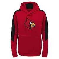 Boys 8-20 Louisville Cardinals Hyperlink Pullover Hoodie