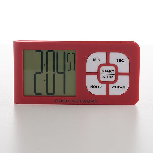 Food Network™ Slim Touch Button Timer